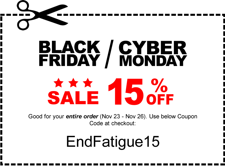 Black Friday Sale - 15% Off Entire Order