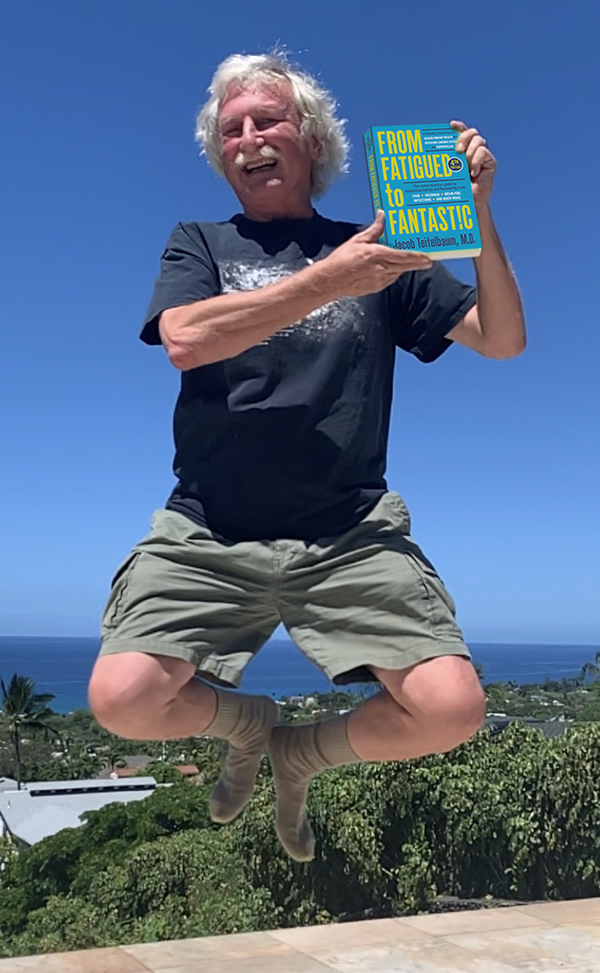 Dr. T with His New Book