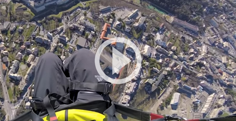 Fantastic Paragliding Video